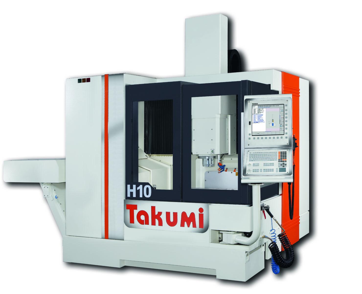 Takumi H10: 3-Achs-BAZ mit Heidenhain-Steuerung  für den Werkzeug- und Formenbau