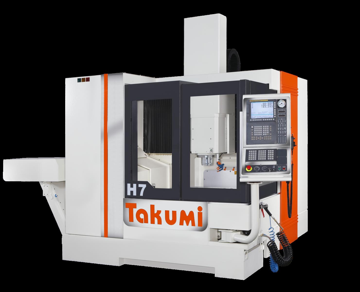 Takumi H7 mit Heidenhain-Steuerung für den Werkzeug- und Formenbau